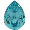 SWAROVSKI 4320 Pear Rhinestones 14x10 Light Turquoise