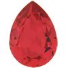 SWAROVSKI 4320 Pear Rhinestones 10x7 Padparadscha