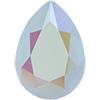 SWAROVSKI 4320 Pear Rhinestones 14 x 10 Crystal Powder Blue AB