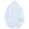 SWAROVSKI 4320 Pear Rhinestones 14 x 10 Crystal Powder Blue