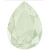 SWAROVSKI 4320 Pear Rhinestones 14 x 10 Crystal Powder Green