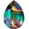 Swarovski 4320 Pear Fancy Stone 14x10mm Crystal Rainbow Dark