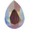 SWAROVSKI 4320 Pear Rhinestones 10x7 Rose AB
