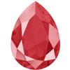 Swarovski 4320 Pear Fancy Stone 14x10mm Crystal Royal Red