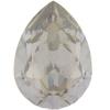SWAROVSKI 4320 Pear Rhinestones 10x7 Silver Shade