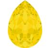 Swarovski 4320 - Pear Fancy Stones 14x10mm Yellow Opal