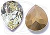 SWAROVSKI 4320 Pear Rhinestones 10 x 7 mm Jonquil