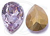 SWAROVSKI 4320 Pear Rhinestones 10 x 7 mm Light Amethyst
