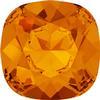 SWAROVSKI 4470 Square Rhinestones  Tangerine