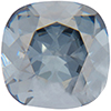 SWAROVSKI 4470 Square Rhinestones 10mm Crystal Blue Shade