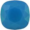 SWAROVSKI 4470 Square Rhinestones 12mm Caribbean Blue Opal