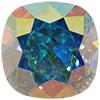 SWAROVSKI 4470 Square Rhinestones 10mm Crystal AB