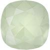 SWAROVSKI 4470 Square Rhinestones 10mm Crystal Powder Green
