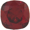 SWAROVSKI 4470 Square Rhinestones 10mm Red Magma