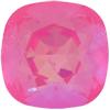 SWAROVSKI 4470 Square Rhinestones 12mm Ultra Pink AB