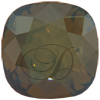 SWAROVSKI 4470 Square Rhinestones 10mm Crystal Bronze Shade