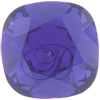 SWAROVSKI 4470 Square Fancy Rhinestones 10mm Purple Velvet