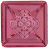 SWAROVSKI 4481 Vision Square Fancy Stone 16mm Rose