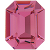 SWAROVSKI 4600 Fancy Octagons 10x8 mm Rose