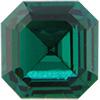 SWAROVSKI 4671 Square Rhinestones 7 mm Emerald