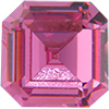 SWAROVSKI 4671 Square Rhinestones 6 mm Rose