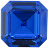 SWAROVSKI 4671 Square Rhinestones 6 mm Sapphire