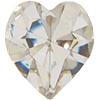 SWAROVSKI 4800 Heart Rhinestones 5.5 x 5 mm Crystal