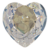 SWAROVSKI 4827 Heart Rhinestones 28mm Moonlight