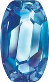 SWAROVSKI 4855 Organic Oval Fancy Stone 10 x 6 Bermuda Blue