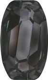 SWAROVSKI 4855 Organic Oval Fancy Stone 10 x 6 Jet