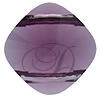 SWAROVSKI 5180 Double Hole Square Bead 14mm Amethyst