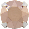 Swarovski 53200 Chaton Montees 31pp Rose Gold/Silver