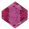 SWAROVSKI ELEMENTS 5328 Bicone Beads 6mm Fuchsia
