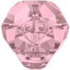 Swarovski 5751 - Panther Bead 19mm Crystal Antique Pink