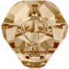 Swarovski 5751 - Panther Bead 19mm Crystal Golden Shadow