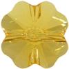 Swarovski 5752 Clover Beads 12mm Sunflower