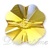 Swarovski 5752 Clover Beads 12mm Sunflower