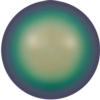 Swarovski 5818 1/2 Drilled Round Pearl 10 mm Scarabaeus Green