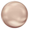 SWAROVSKI 5817 1/2 Drilled Pearl Cabochon 10mm Rose Gold