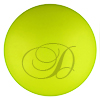 SWAROVSKI 5817 1/2 Drilled Pearl 16mm Neon Yellow Pearl