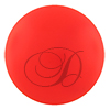 Swarovski 5818 1/2 Drilled Round Pearl 12 mm Neon Red