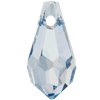 Swarovski 6000 Teardrop Pendant Crystal Blue Shade 11x5.5mm