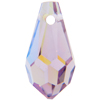 Swarovski 6000 Teardrop Pendant Light Amethyst AB 11x5.5mm