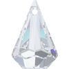 SWAROVSKI 6022 XIRIUS Raindrop Pendant 14mm Crystal