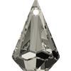 SWAROVSKI 6022 XIRIUS Raindrop Pendant 24mm Crystal Satin