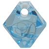 Swarovski 6301 Top Drilled Bicone Pendant Aquamarine 6mm