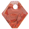 Swarovski 6301 Top Drilled Bicone Pendant Padparadscha 6mm