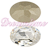 SWAROVSKI 4120 Oval Rhinestones 14X10 mm Crystal