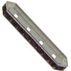 SWAROVSKI 77725 Rondelle Spacer Bars 4 Hole Amethyst/Silver