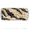 Swarovski 81982 - Becharmed Pave Zebra Bead Jet, Crystal Golden Shadow